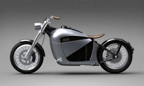 Dutch Touch Eco-Cycles  - The Ophiro Electric Motorcycle is Classy and Clean