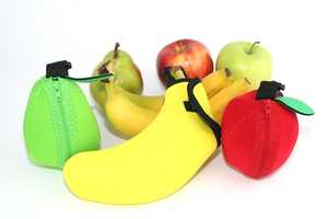 The Fruit Jacket is an Alternative to Plastic Containers