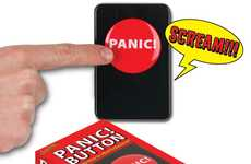 Glass-Shattering Screamers - The Panic Button Lets You Release Rage Without Damaging Your Vocals