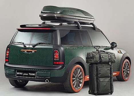 Carry-On Mini Cars - MINI Goes Tumi Combines MINI Coopers With Luxury Luggage