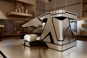 Alexander Yakushin's Electric Coffee Maker is Energy and Space Efficient