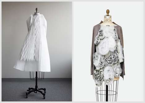Artfully Interactive Clothing - Ying Gao Creates Stunning Fashions that Respond to Their Environment