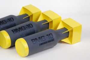 BMG-10 Beer Packaging Takes an Explosive Aesthetic