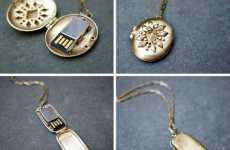 These USB Lockets by Emily Rothschild are Intricate and Practical