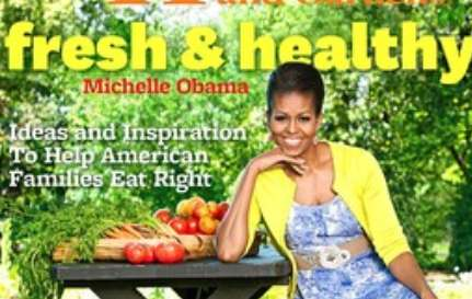 Michelle Obama Better Homes and Gardens