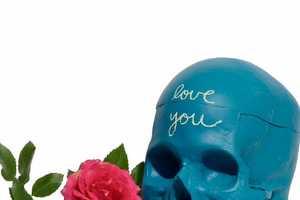 These Chalkboard Skulls are Morbidly Fun
