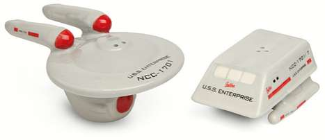Star Trek Enterprese & Shuttle Shakers