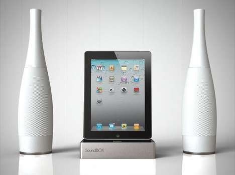 SoundBox iPad dock station