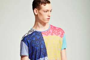 The Jonathan Saunders S/S 2012 Menswear Line Plays With Bold Patterns
