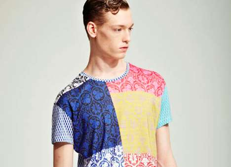Jonathan Saunders S S 2012 Menswear