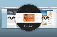 Branding Blog Abandonment - Gap Ad Markets to Visitors Clicking Out of Your Website