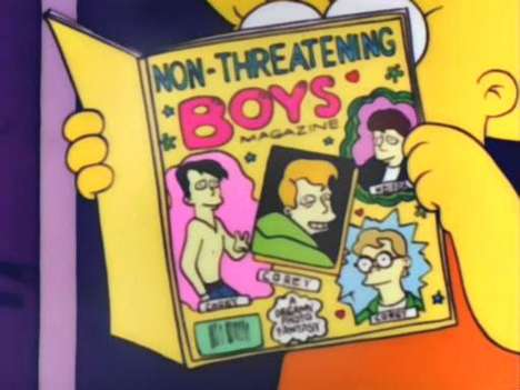 Lisa Simpson Book Club