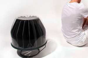 The Sun Container Space Heater Harnesses Solar Warmth