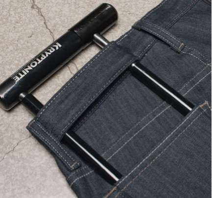 Anti-Theft Denims - The Levi's Commuter Series Caters to Cyclists