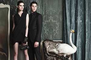 The Byblos FW11/12 Campaign Delivers a Upper Class Appeal