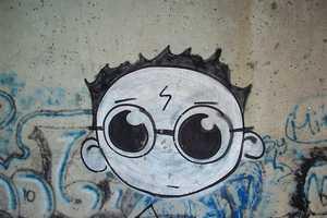 This Harry Potter Graffiti Brings Magic to Urban Neighborhoods