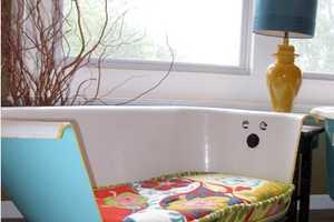 Ruff House Art Creates Brilliant Bathtub Seats
