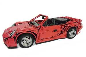 The LEGO Porsche 911 Turbo Cabriolet is a Child Dream Car