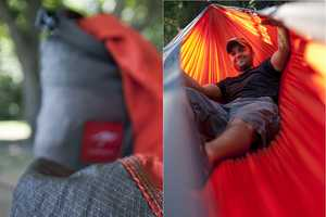 The Kammok is Ready-to-Use Hammock That Comfortably Sleeps Two