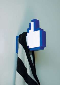 Facebook Like Hanger