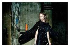Gritty Factory Modeling - The Alexander Wang Fall 2011 Campaign Gets Down and Dirty