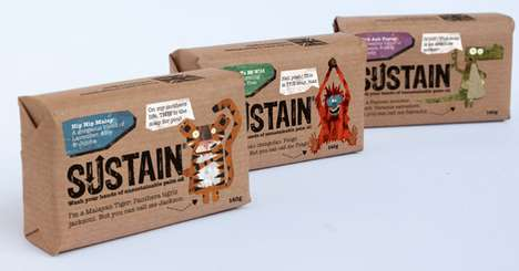 Sustain Soap Packaging