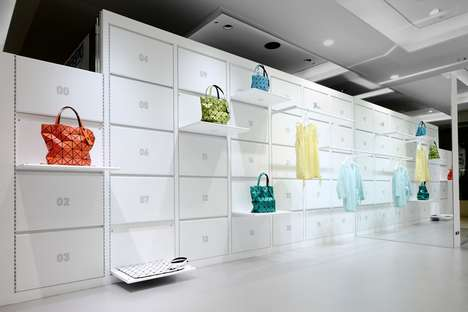 Fold-Away Fashion Stores - The 24 Issey Mikaye Store Can Easily be Stored Anywhere