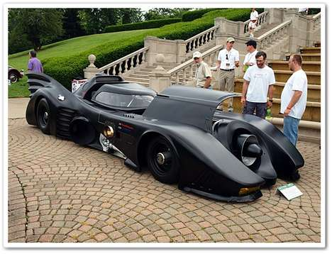 Turbine Engine-Powered Batmobile