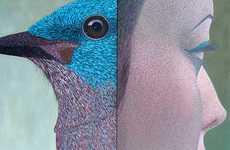 Human-Bird Illustrations