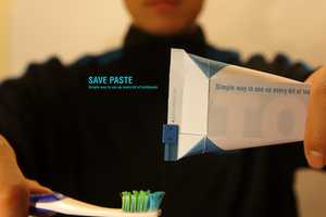 SavePaste Allows You to Squeeze Every Last bit of Toothpaste out of the Tube