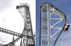 $40 Million Thrill Rides - Takabisha in Japan is the World's Steepest Roller Coaster