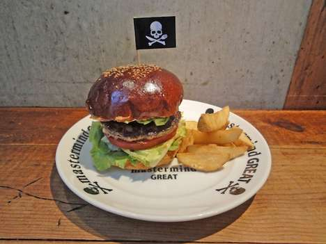 Pop-Up Fashion Restaurants - Mastermind JAPAN x The Great Burger Serves Up Culinary Delights
