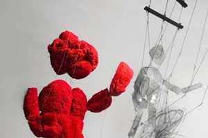 Antonio Barros Carvalho Creates Stringed Puppets With Lab Equipment