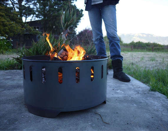 Upcycled Bonfire Pits