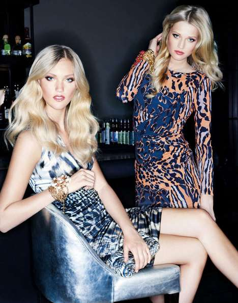 Toni Garrn Unger Fashion Winter 2011 Campaign