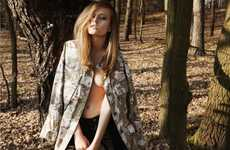 Fashionable Forest Photography - The Roman Goebel Nature and Natallia Editorial is Fantastical