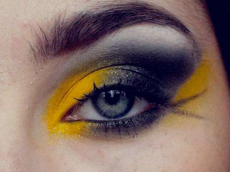 Hufflepuff Eye Makeup