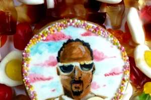 These Snoop Dogg Cookies are Loaded With Pink Sprinkles & Sweet Detailing