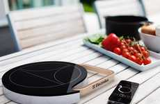 Bluetooth Heat Plates - Tommi Moilanen Designs a Mobile Induction Food Warmer