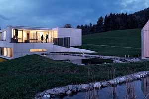 The 'Germann House' Boasts Stunning Surroundings in Feldkirch, Austria