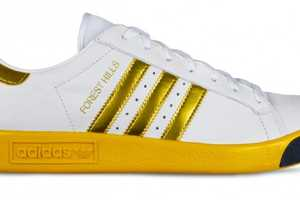 The Adidas Originals Forest Hills Shoe Boasts Sheen & Classic Style