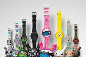 Kidrobot for Swatch Collection Re-Invents the Dunny Character