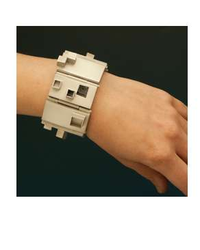 Classy Concrete Accessories - Lauren Cummings' Geometric Jewelry is Architecturally-Inclined
