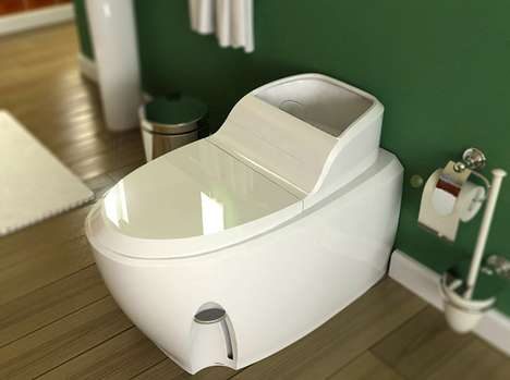 Dry WC Waterless Toilet