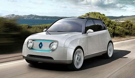 Power-Sharing Concept Cars - The Renault 4Lectric Drives Household Electricity Too