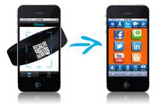 Scannable ID Apps - Skanz App Creates a QR Code For Your Digital Identity