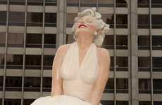 Giant Iconic Statues - Seward Johnson Unviels 26-Foot Sculpture of Marilyn Monroe