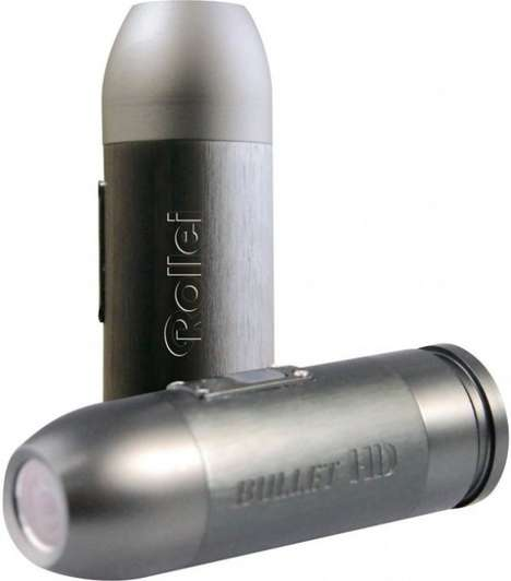 Action Ammunition Cams - Rollei Bullet HD Proves that Small Devices Pack a Punch