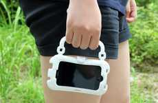 Smartphone-Only Satchels - The iHandbag Carries Your Mobile Phone and Nothing Else