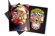 Technicolor Wrestler Notepads - The ILD Macho Man Black Book Pays Tribute to a Wrestling Legend